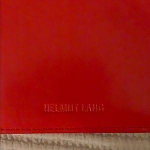 Helmut Lang Bags - Never used Helmet Lang clutch